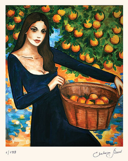 "Ekaterina Moré: Picture ""Orange Scent"""