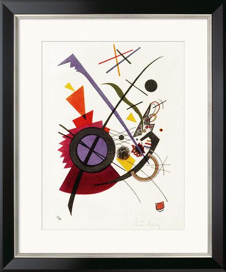 "Wassily Kandinsky: Bild ""Violett"" (1923), gerahmt"