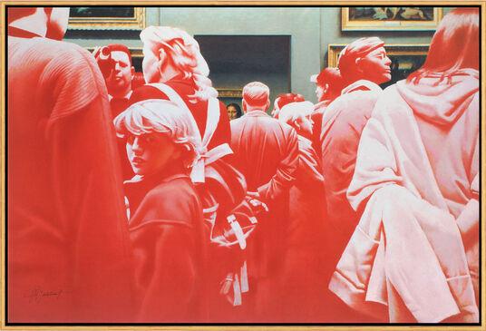 """Erik Bulatov: Bild """"La Gioconda"""" (2006), gerahmt"""