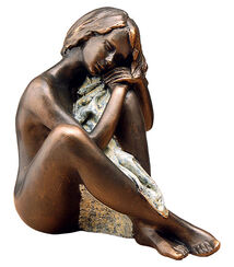 Sculpture 'Esperanza', artificial bronze