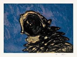 """Bild """"Zyklop Gelb"""" (1984)"""
