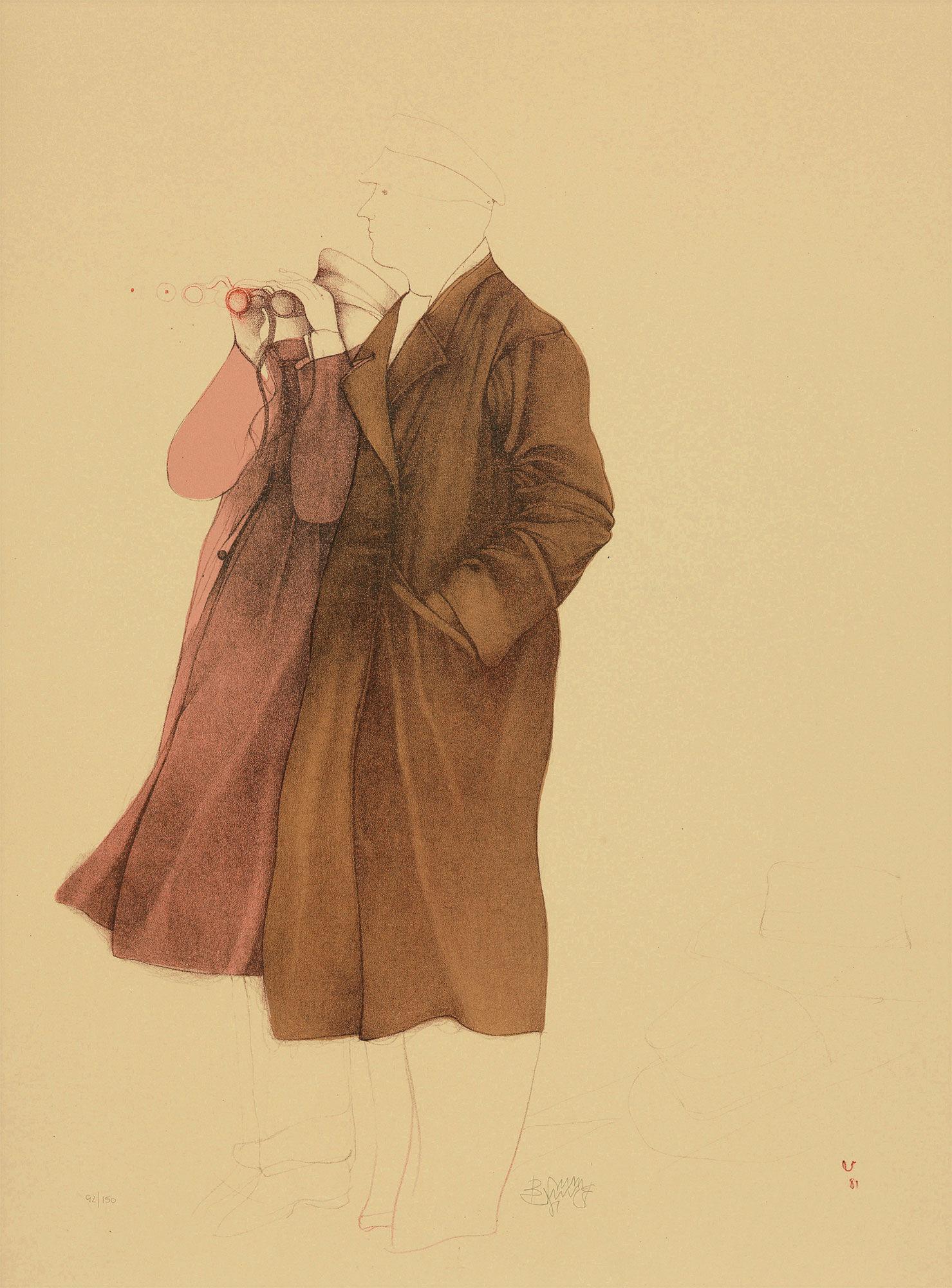 """Picture """"Osservatori"""" 1981"""