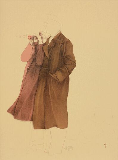 "Bruno Bruni: Bild ""Osservatori"" (1981), ungerahmt"
