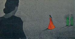 """Bild """"Für das Leben eine Sprache finden..."""" (2012), ungerahmt"""