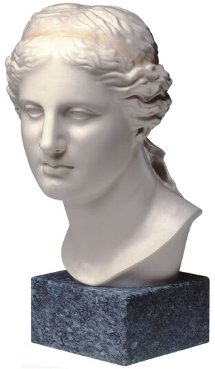 Head of Aphrodite from Milos