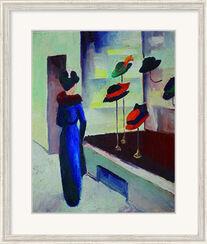 """Picture """"Hat shop"""" (1913)"""