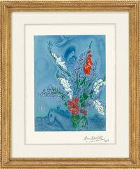 """Bild """"Gladiolen"""" (1965)"""