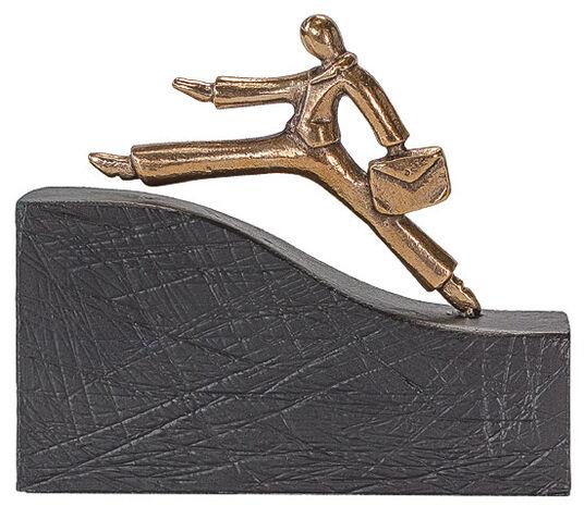 "Bernardo Esposto: Skulptur ""Auf dem Weg nach oben"", Bronze"