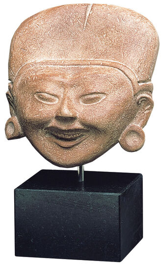 Laughing head