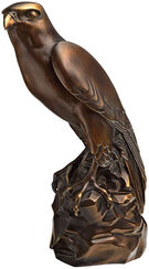 "Sculpture ""Hawk"", Version in Artificial Bronze"