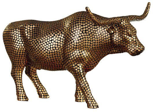 """Tao LaBossiere: Kuhobjekt """"Penny Bull"""""""