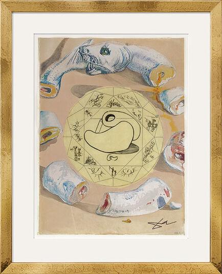 """Salvador Dalí: Bild """"L' Ouroboros"""" (1976)"""