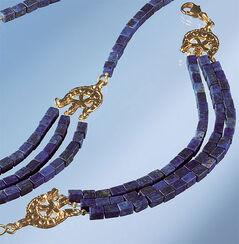 Bracelet with Lapis-Cuboids