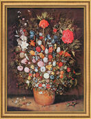 "Art print ""Bouquet"" (about 1607), framed"
