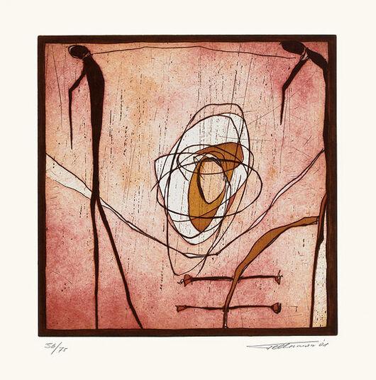 """Heinz Felbermair: Bild """"Ohne Titel"""" (2001), ungerahmt"""