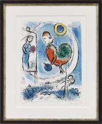 """Bild """"Der Hahn über Paris"""" (1955)"""