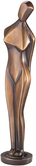 """Marg Moll: Sculpture """"Standing"""" (1929), reduction in bronze"""