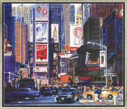 "Bild ""Times Square"", gerahmt"