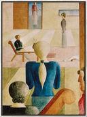 "Bild ""Frauenschule"" (1930), gerahmt"