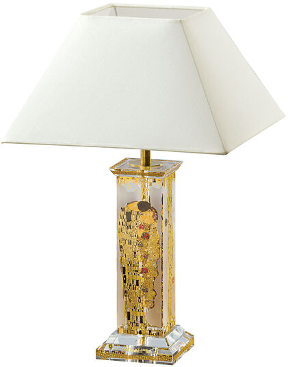 desk lamp the kiss after gustav klimt. Black Bedroom Furniture Sets. Home Design Ideas