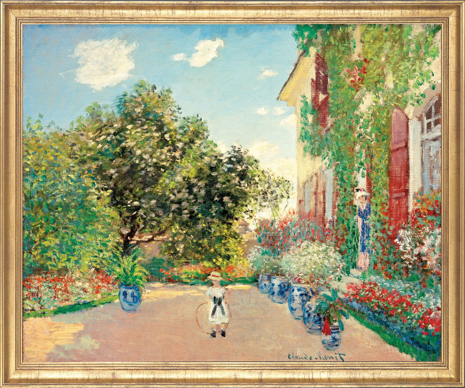 "Painting ""Artist's House in Argenteuil"" (1873)"