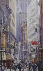 "Bild ""New York City by light"", ungerahmt"