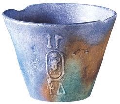 Name cup of Tutankhamun