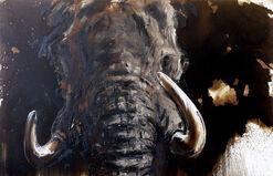 "Bild ""Elefant 49"" (2014) (Unikat)"