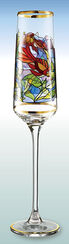 "Champagne cup ""Fish"" - after Louis C. Tiffany"