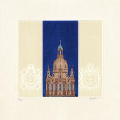 """Bild """"Frauenkirche"""", ungerahmt"""