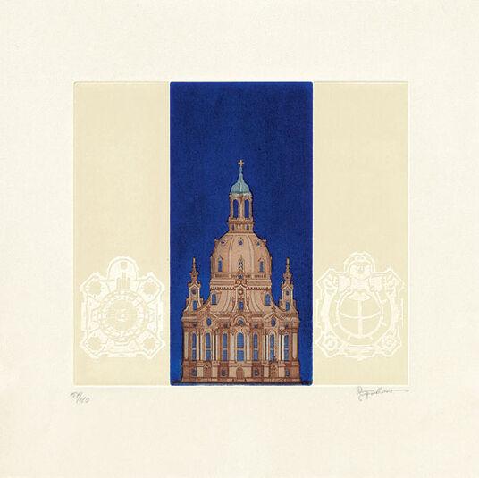 "Joseph Robers: Bild ""Frauenkirche"", ungerahmt"
