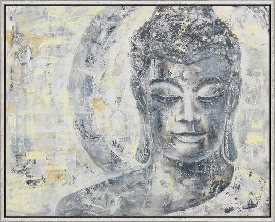 "Sabine Türk: Bild ""Buddha"", gerahmt"