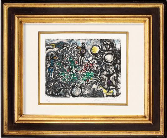"""Marc Chagall: Bild """"Das Morgenerwachen"""" (1969)"""