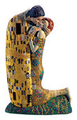 "Sculpture ""The Kiss"" (19 cm) - by Gustav Klimt"