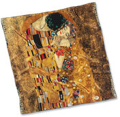 "Silk scarf ""The Kiss"""