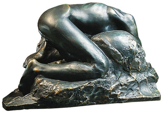 "Auguste Rodin: Sculpture ""La Danaide"" (1889/90), bronze artedition"