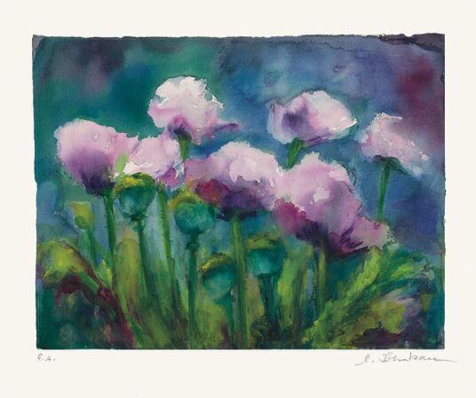 """Christine Kremkau: Bild """"In Monets Garten"""" (2011)"""