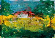 """Bild """"Baumlandschaft III"""" (2008), ungerahmt"""