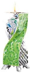 "Kerzenleuchter ""Ronda"" (Größe L, Höhe 30 cm), handbemalt"