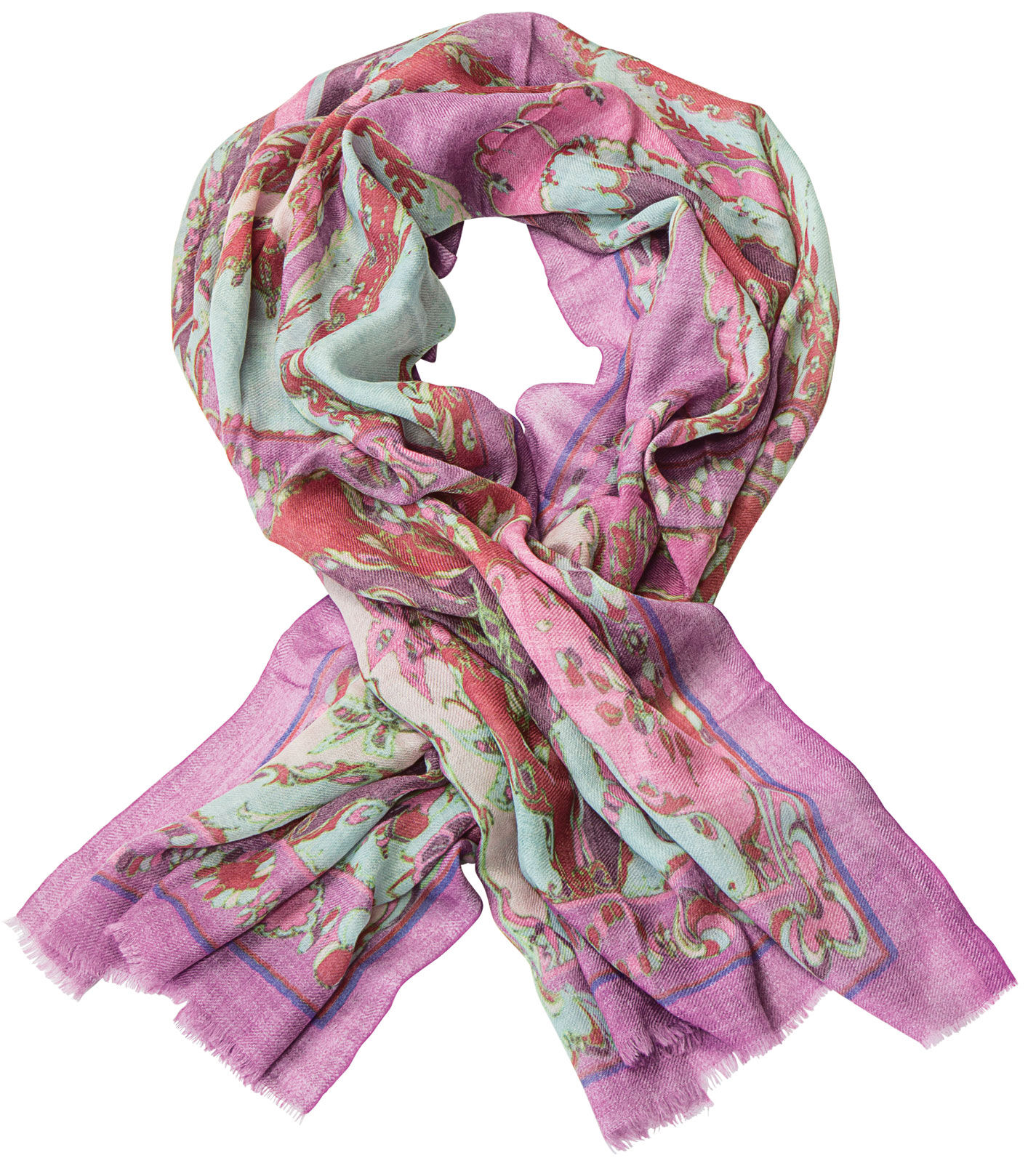 Wool Shawl Quot Pastel Quot Pure Wool Exclusive Limited