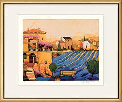 "Picture ""Lavender Harvest"" (2007)"