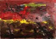 """Bild """"Baumlandschaft II"""" (2009), ungerahmt"""