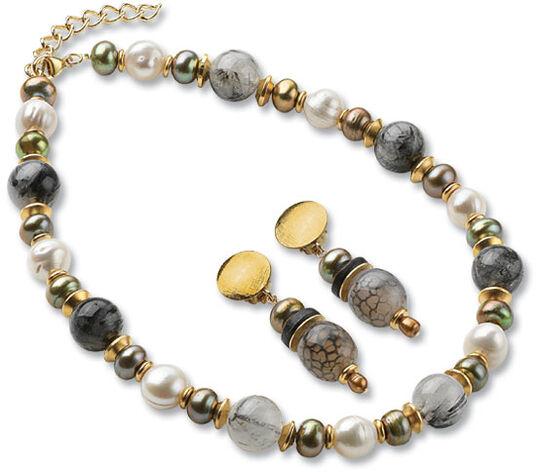 "Petra Waszak: Jewel set ""Pearls of Art Nouveau"""