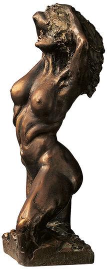 """Wolfgang Grimm: Skulptur """"Eva 2000"""" (1995), Version in Kunstbronze"""