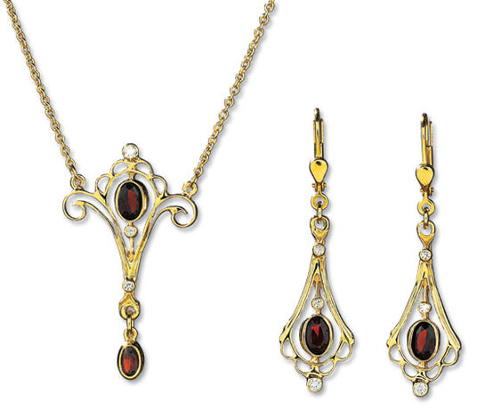 "Georg & Hans J. Müller: Jewellery set ""Victoria"""