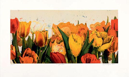 """Gerhard Hofmann: Picture """"Tulip See"""""""