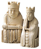 "Chessmen ""King + Queen"""