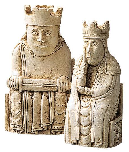 "Chessmen ""King + Queen"""
