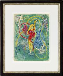 """Bild """"Der Zirkus (Kunstreiterin)"""" (1967)"""