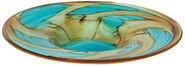 "Glass dish ""Aqua"""